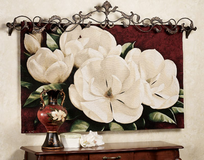 Magnolia Wall Art celebrate spring's approach with floral wall art | a home like no