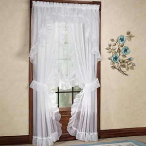ruffled curtains a home like no other