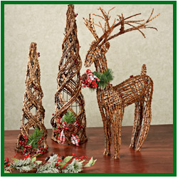 Rustic woodland holiday decor a home like no other for O holy night decorations