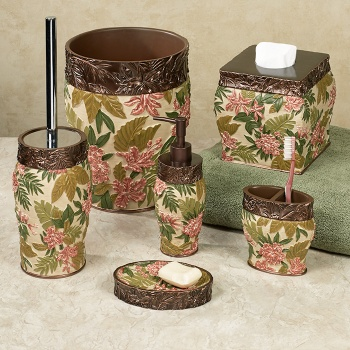 Tropical Haven Bath Accessories