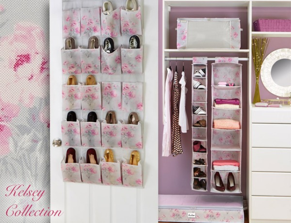 Kelsey Closet Organizers and Storage Boxes