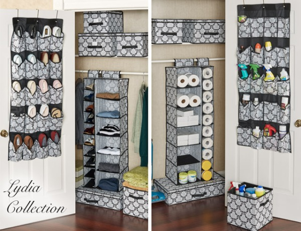 Lydia Closet Organizers and Storage Boxes