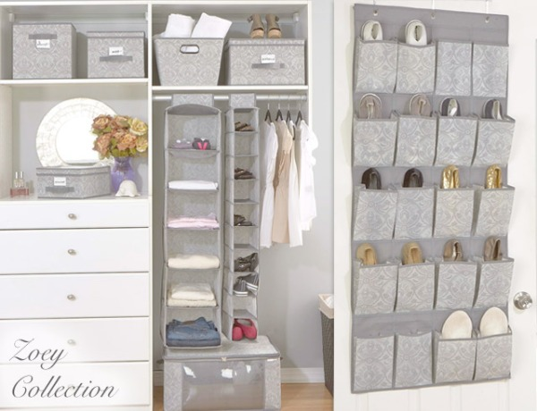 Zoey Closet Organizers and Storage Boxes