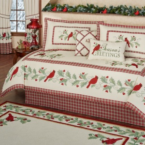 Wintersong Holiday Daybed Bedding