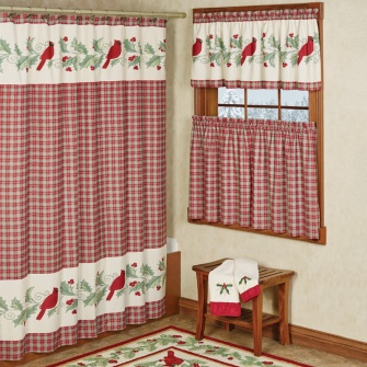 Wintersong Holiday Shower Curtain
