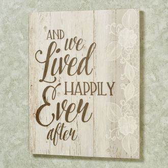 Happily Ever After Wall Art