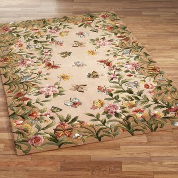 Athena Garden Butterfly Rugs