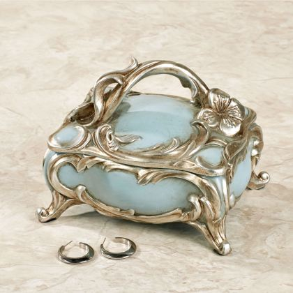 Jaylene Blue Jewelry Box