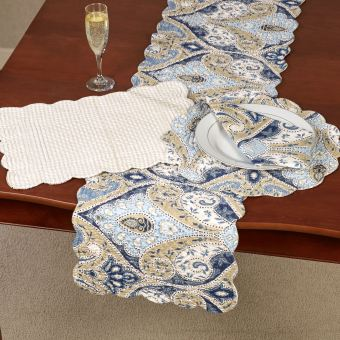 Nazima Reversible Table Linens