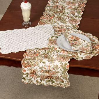 Jocelyn Jacobean Table Linens