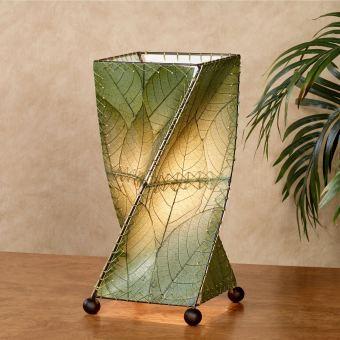 Tropical Twist Lamp in Green