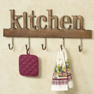 Kitchen Wall Hook Rack