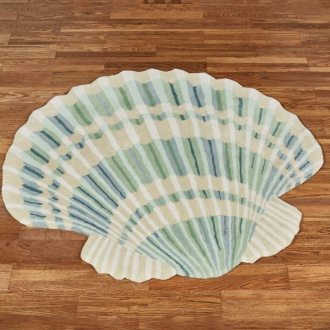 Clearwater Scallop Shell Rug