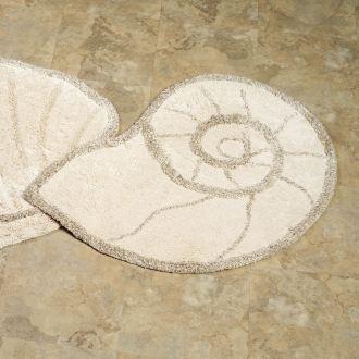 Nautilus Shell Bath Rug