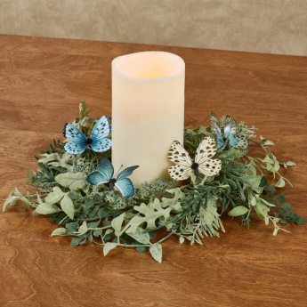 Butterfly Oasis Candle Ring