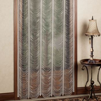 Sorrento String Lace Curtain Panel