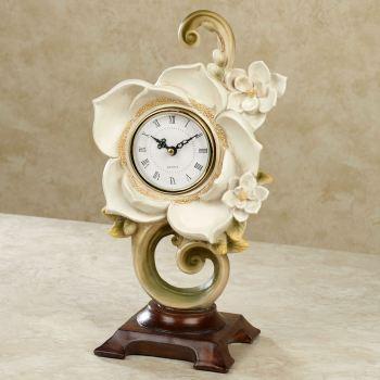 Magnolia Charm Accent Clock