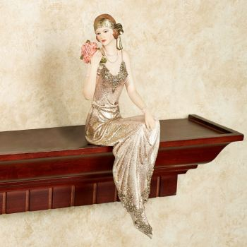 Poised with Style Lady Figurine Shelf Sitter