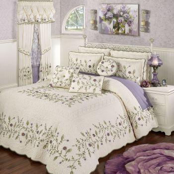 Blossom Lavender Bedspread
