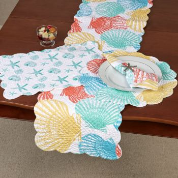 Captiva Island Seashell Table Linens