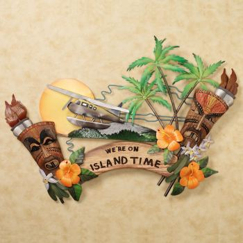 We're on Island Time Wall Art