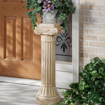 Ionic Display Pedestal Column