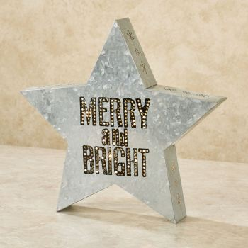 Merry and Bright Decorative Accent
