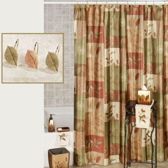 Sheffield Autumn Shower Curtain