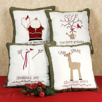 Christmas Spirit Pillow Set