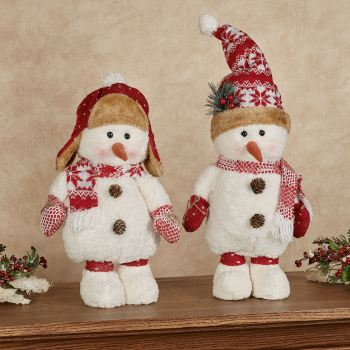 Snow Day Snowmen Stander Set