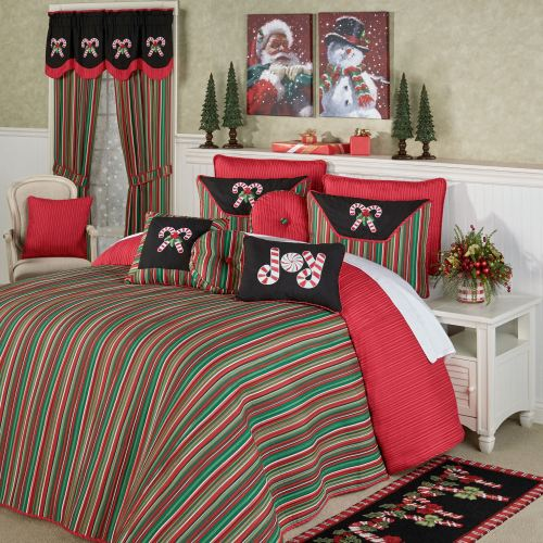 Peppermint Dreams Holiday Bedding
