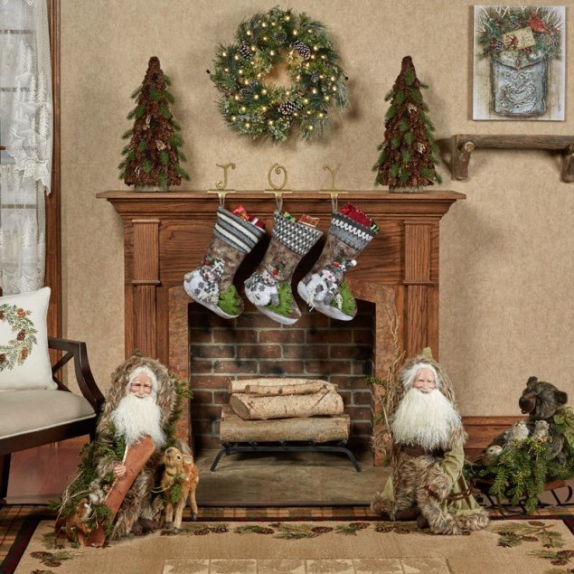 Mountain Christmas Holiday Decor