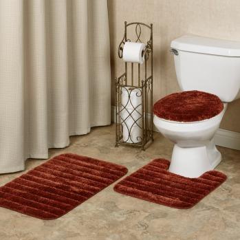 Cinnabar Bath Mats