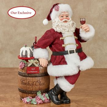 Santa's Classic Vintage Wine Clothtique