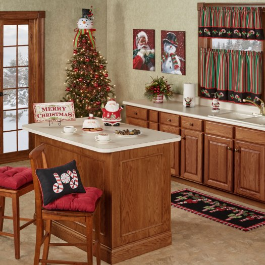 Holiday Kitchen Decor