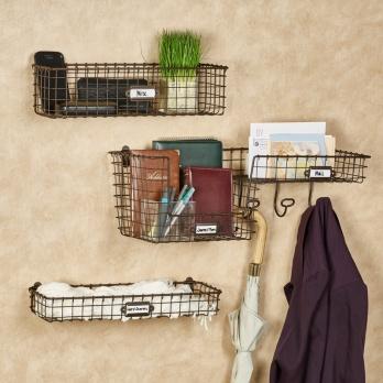 Vintage Organizer Baskets