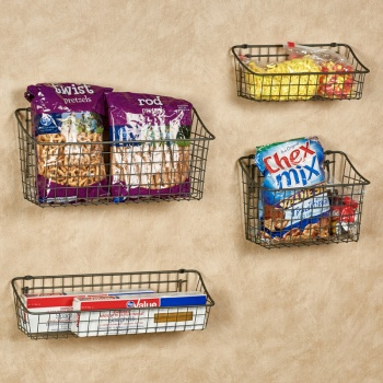 Storage Baskets and Trays