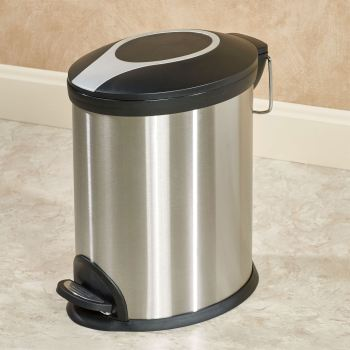 Stainless Steel Step Mini Wastebasket