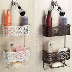 Lace Hanging Shower Caddy