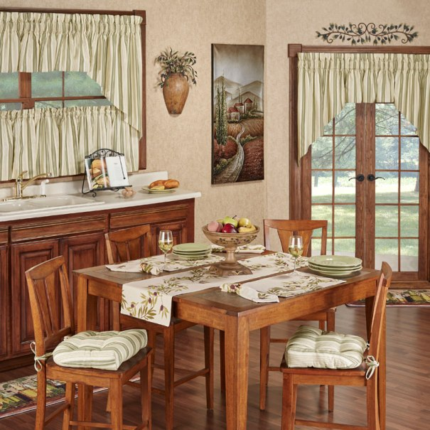 Olive Italian Themed Kitchen