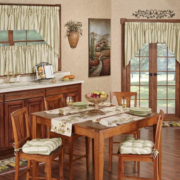 Olive Italian Themed Kitchen