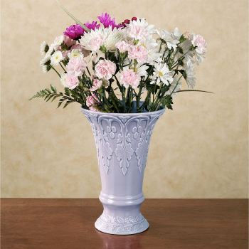 Ramona Table Vase in Wisteria