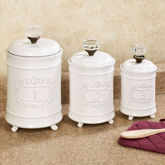 Circa Vintage Style Kitchen Canister Set