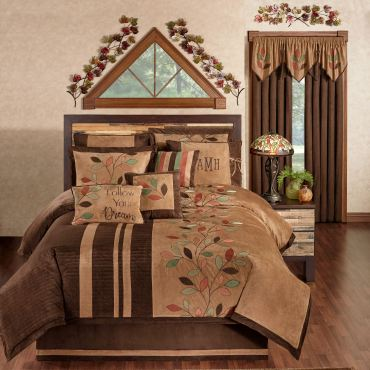 Leafbrook Fall Comforter Set