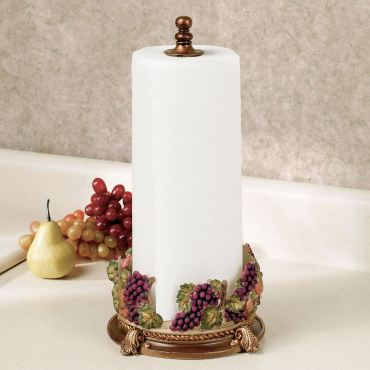 Fall's Bounty Paper Towel Holder