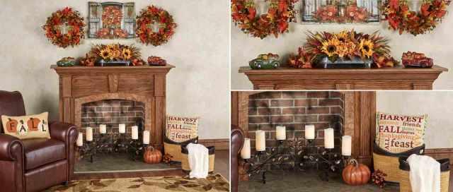 Autumn Fireplace