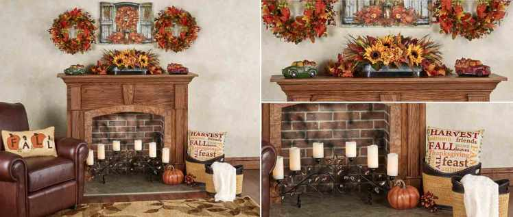Autumn Fireplace