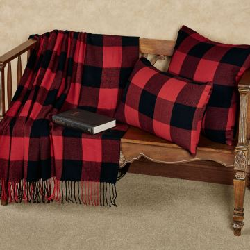 Buffalo Plaid Throw and Pillows