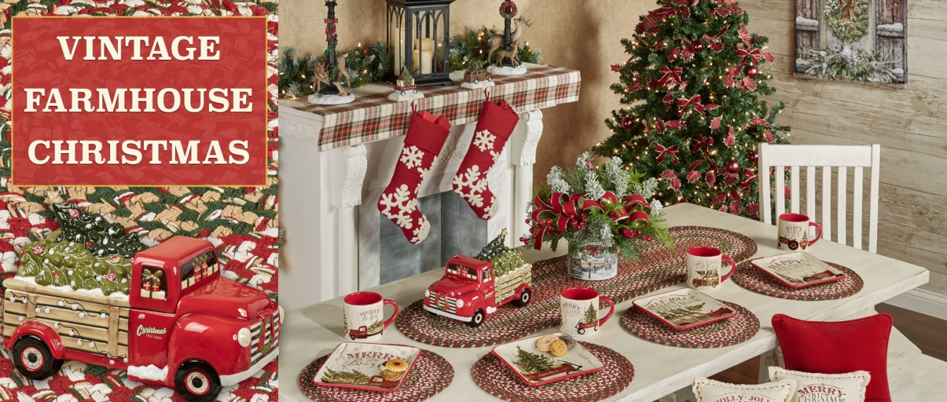 Vintage Farmhouse Christmas Decor
