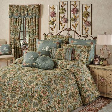 Calais Jacobean Floral Bedspread